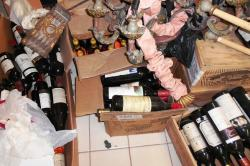 U.S. Bankruptcy Court says the Prossers allowed expensive wines to spoil (image from court filings).