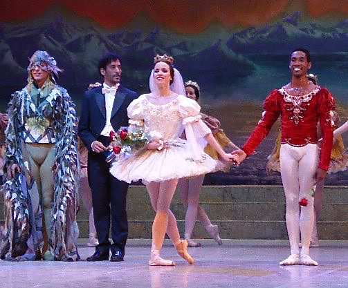 Curtain call for the National Ballet's production of 'Swan Lake.'