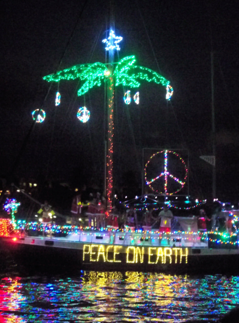 This year's boat parade was the 18th annual event. (Carol Buchanan photo)