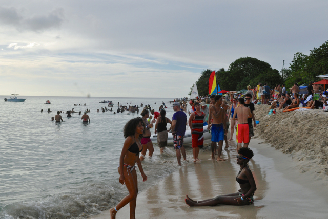 Every year, Reef Jam draws about 1,000 people to Rainbow Beach. (Source file photo)