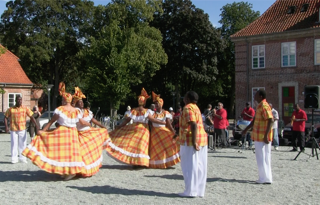 Ay-Ay Quadrille Dancers in Denmark