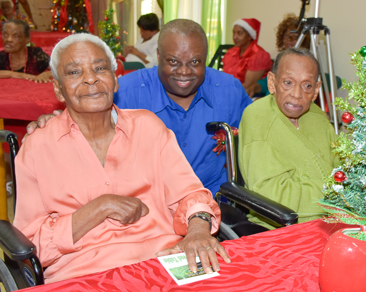 Celebrating Christmas at Herbert Grigg Home for the Aged