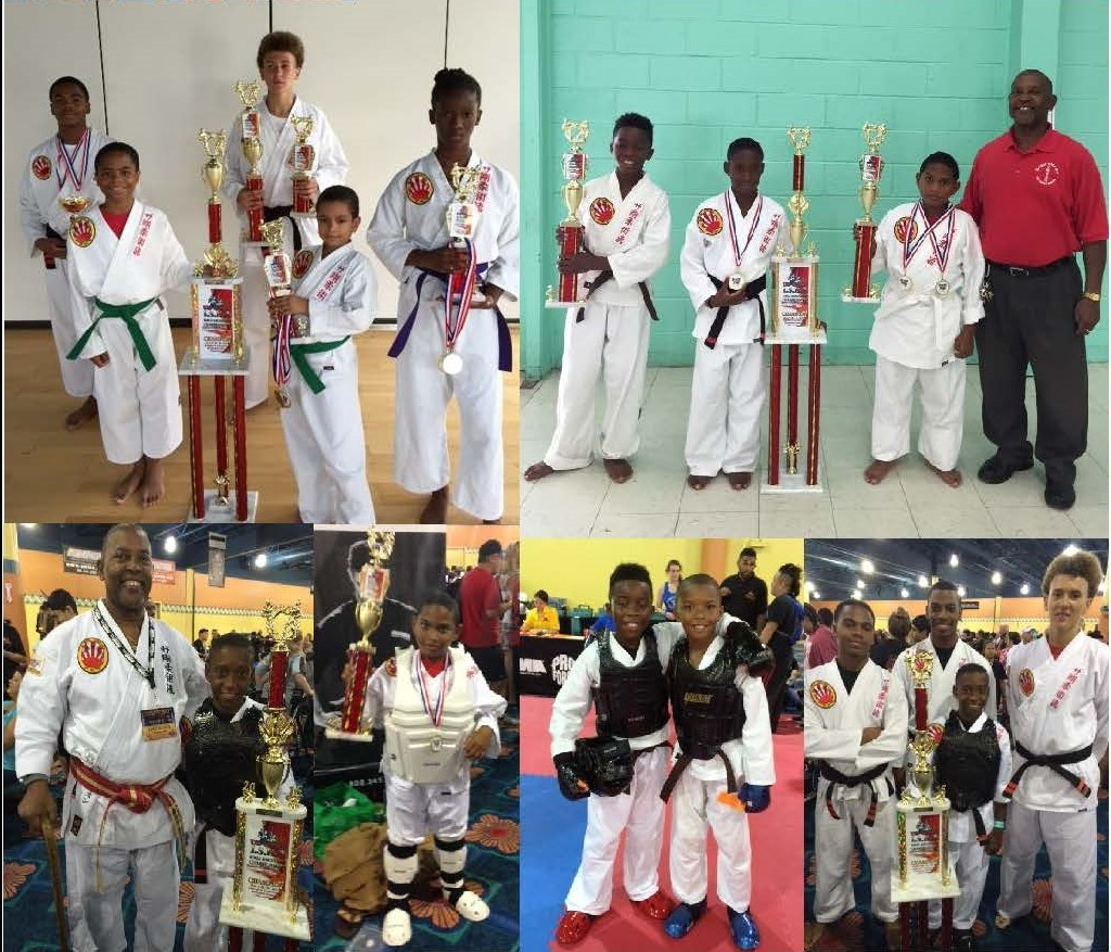 V.I. youth at 2016 U.S. Open World Martial Arts Tournament