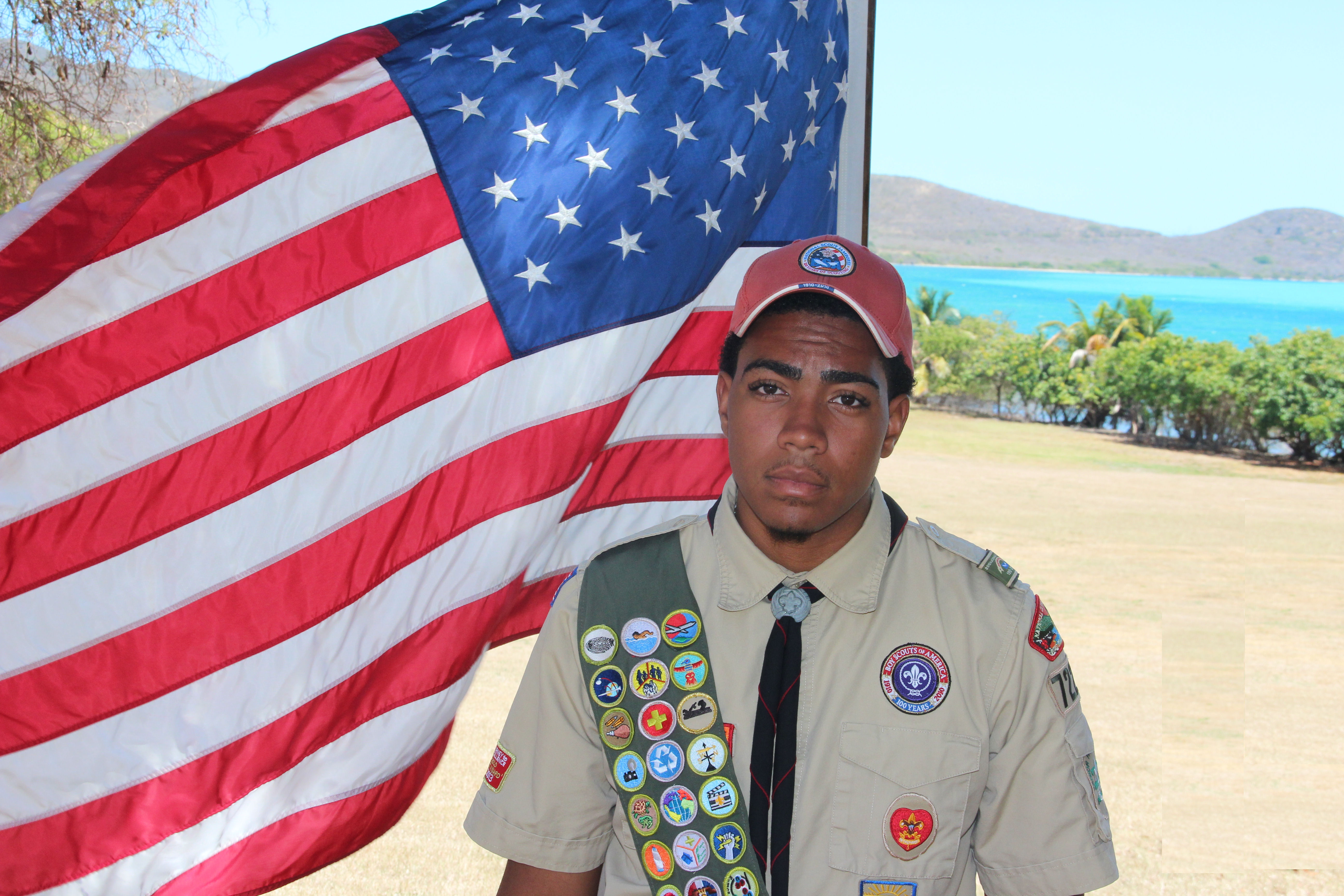 Michael Christopher Brooks earns Eagle Scout status