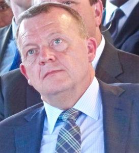 Danish Prime Minister Lars Løkke Rasmussen in Christansted Friday.