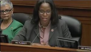 Delegate Stacey Plaskett (Source file photo)
