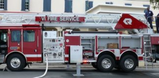 A V.I. Fire Service fire truck (File photo)