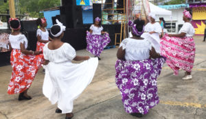 The Macislyn Bamboula Dancers perform.