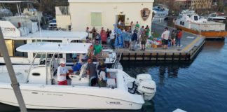 Caribbean Sea Adventures loads up Sunday on St. Croix. (Photo provided by Caribbean Sea Adventures)