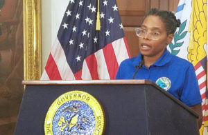 Department of Planning and Natural Resources Commissioner Dawn L. Henry