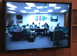 Thursday's GERS meeting was teleconferenced between St. Croix and St. Thomas.
