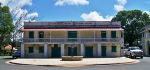 The Oscar E. Henry Customs House in Frederiksted.