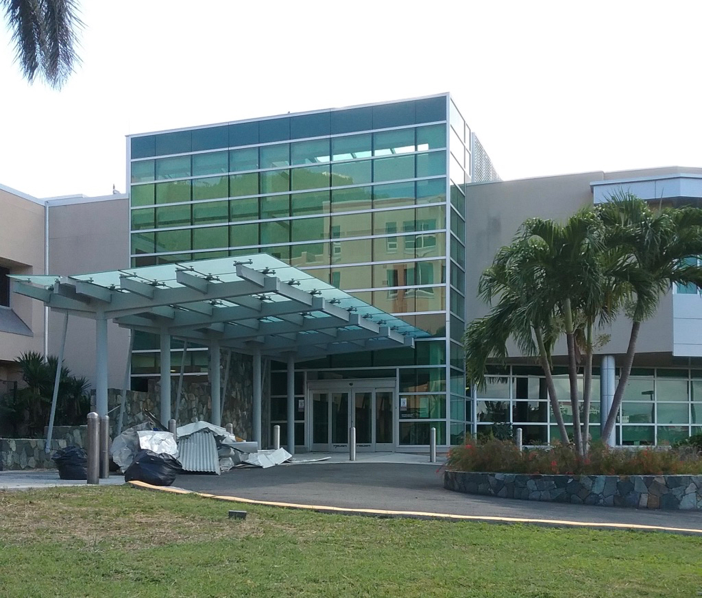 Schneider Regional Medical Center took a heavy hit from Hurricanes Irma and Maria. (Jan. 28, 2018, file photo)