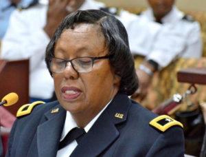 Adj. Gen. Deborah Howell (File photo)