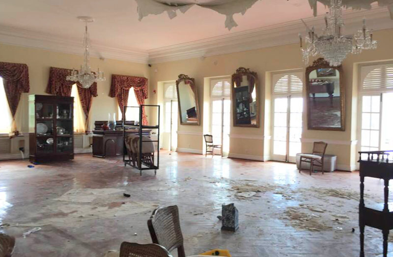 Government House Says Art and Antiquities Are Safe, But Press