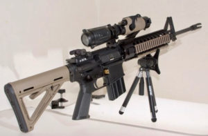 Students nationwide will protest gun violence Wednesday. The AR-15 is a focus of the gun debate. (Photo from Gun News)