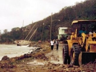 Route 107 in Coral Bay, St. John