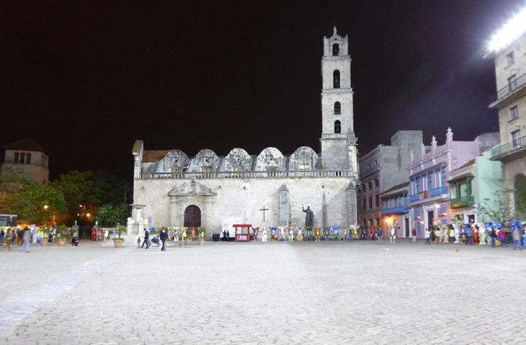 St. Francis Square in Old Havana
