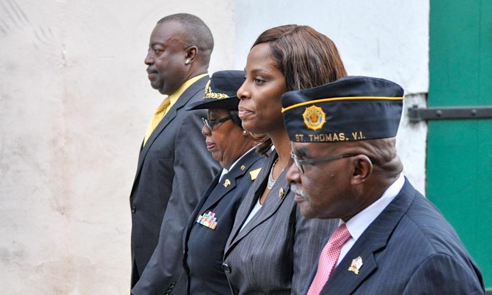 Lt. Gov. Osbert Potter, Delegate Stacey Plaskett