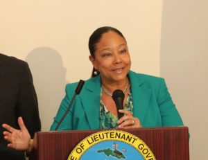 Addelita Cancryn Junior High School Principal Lisa Hassell-Forde (File photo from V.I. Department of Education)