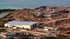 Bovoni Landfill on St. Thomas