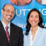 Gubernatorial candidate Soraya Diase Coffelt and her running mate, Dwight Nicholson. (Campaign photo)