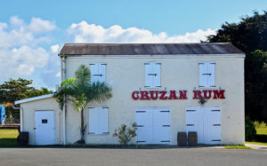 Cruzan Rum store at the distillery in Estate Diamond, photo provided by Cruzan Rum. (Photo provided by Cruzan Rum)