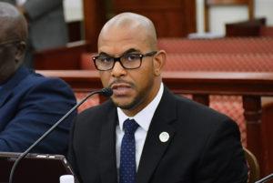 Commissioner of Public Works Nelson Petty Jr. (V.I. Legislature photo)