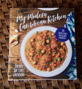 The cover of Jackson's 'My Modern Caribbean Kitchen.' (Gerard Sperry photo)