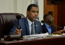 Senate Finance Committee Chairman Kurt Vialet. (V.I. Legislature photo)
