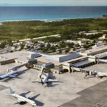 Artist's conception of the expanded, renovated Henry E. Rohlsen International Airport on St. Croix.