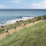 Runners train for the St. Croix Triathlon, which returns to the island on Sunday.