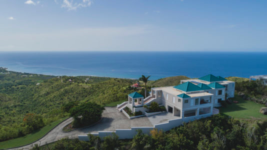 A real estate listing on St. Croix from Realtor Chris Hanley's website.