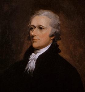 Alexander Hamilton portrait by John Trumbull 1806. (Public domain)
