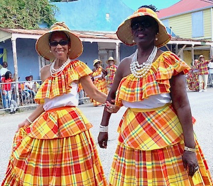 Quadrille Dancers enjoy taking part in the Adult Parade. (Anne Salafia photo)