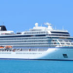 The cruise ship Viking Sea at the VIPA pier in Frederiksted in March 2018. (Bill Kossler photo)