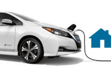 Artist's rendering of a charging Nissan. (Nissan USA photo)