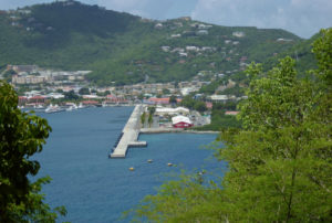 The West Indian Co. Ltd. cruise ship dock in Charlotte Amalie. (File photo)