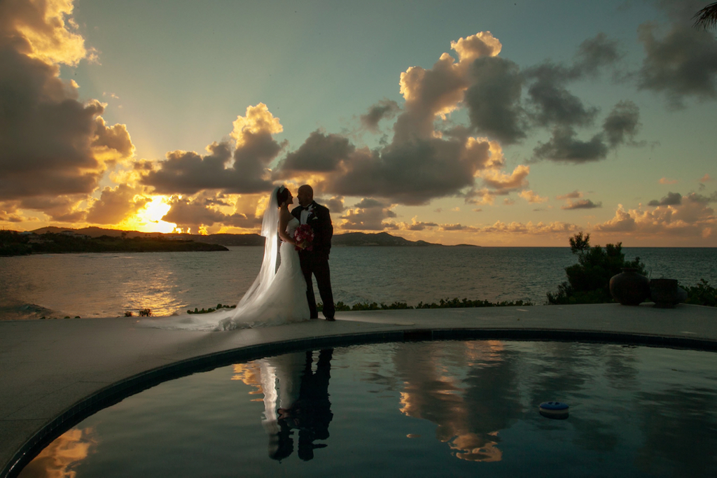 Mainlanders are beginning to rediscover the magic of a wedding in America's Caribbean. (Photo by Kelly Greer Photography)