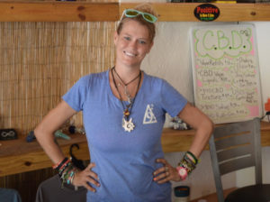 840STX manager Julia Hickey said the cafe in Frederiksted had to close for a day due to a potable water outage. (Bill Kossler photo)