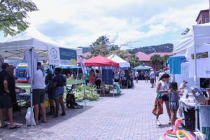 People attending Reef Fest 2019 were greeted by 20 booths, a band and other activities.