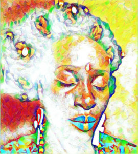 """Portrait of 'Bla(K)ness. V.I. vocal artist Emogen """"Bla(k)ness"""" Creese will perform July 3. (Submitted image)"""