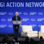 Bill Clinton on Monday opens the Clinton Global Initiative symposium at UVI's St. Thomas campus. (Kyle McKay photo)
