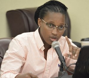 Sen. Janelle Sarauw (File photo)