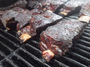The restaurant offers smoked beef short ribs (Photo by Joe Smith)
