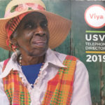 The Viya telephone directory featuring Asta Williams on the cover. (Photo by Chalana Brown)