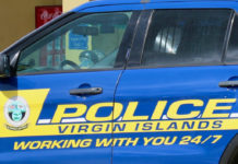 VIPD patrol car. (Linda Morland photo)