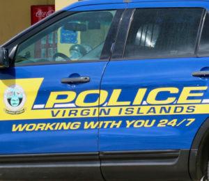 VIPD patrol car. (Linda Morland photo)