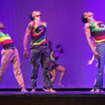 Amal Bryson, left, performs with the KasheDance company at Island Center in June. (Submitted photo)