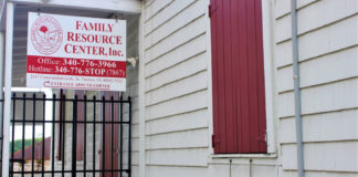 The Family Resource Center on St Thomas is one of the agencies providing assistance for victims of domestic violence and sex-related crimes. (Source photo by Bethaney Lee)